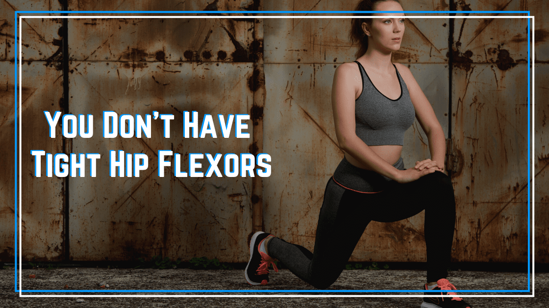 tight hip flexors