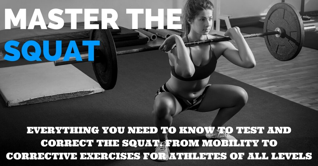 MASTER THE SQUAT BANNER