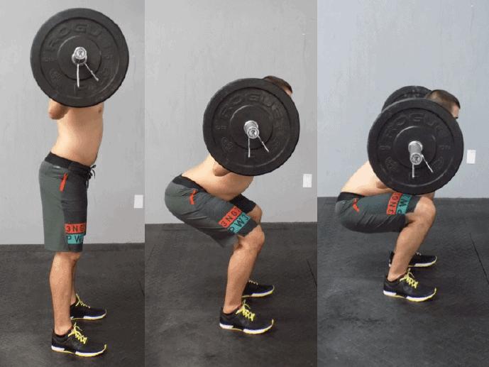 squat butt wink spine control