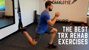 TRX rehab exercises
