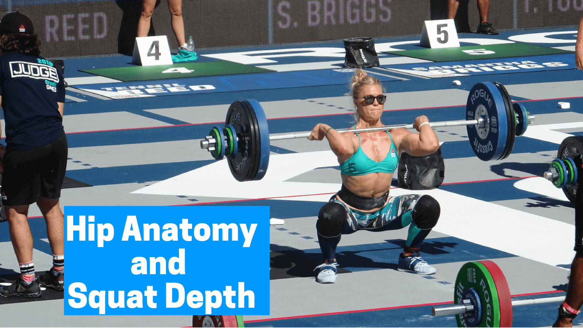 Hip anatomy and squat depth
