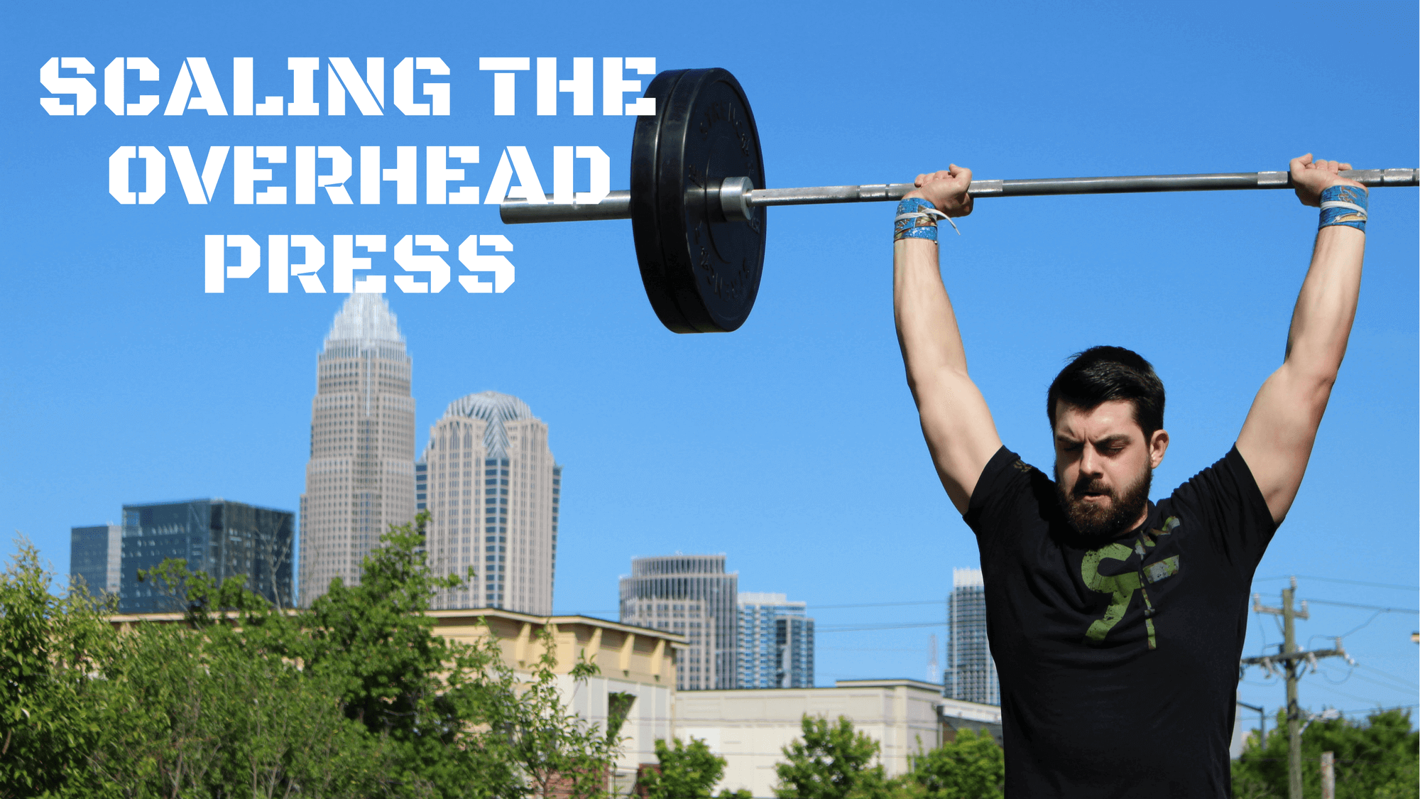 Scaling the overhead press