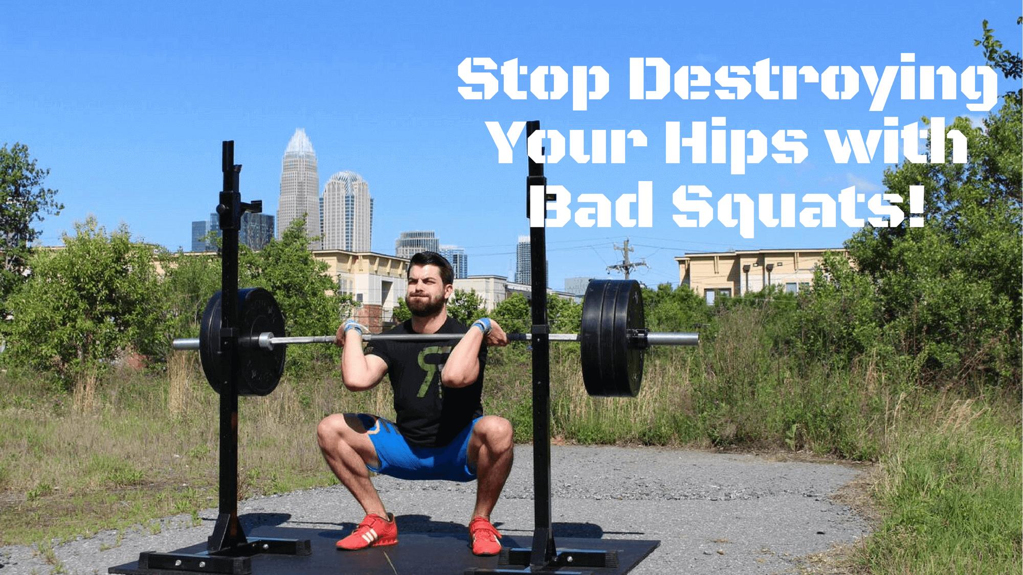 squat hip mobility