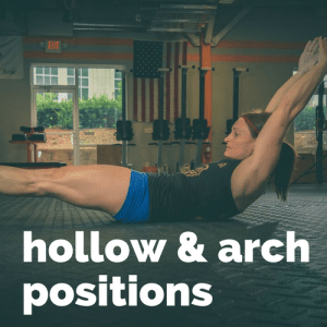 hollow and arch positions