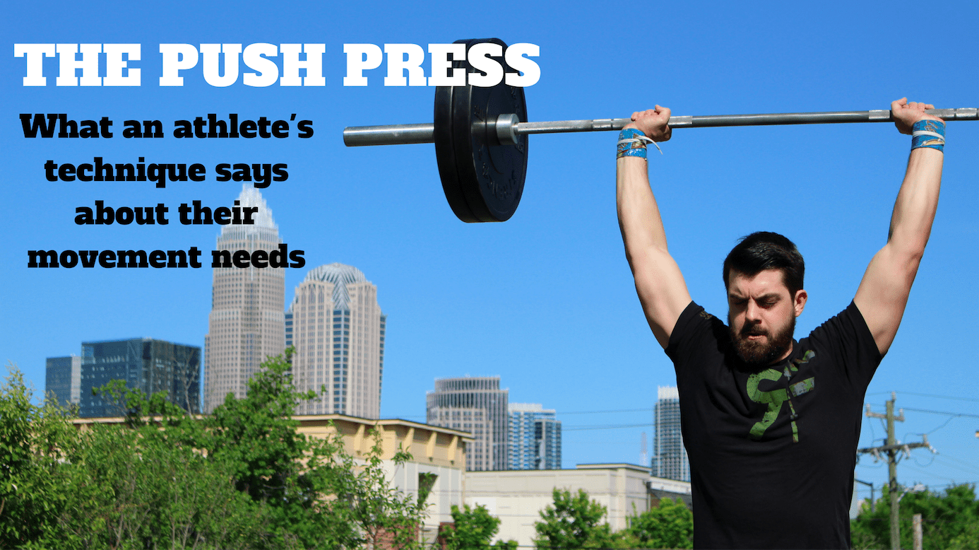push press technique