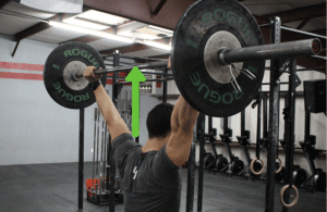 overhead squat active shoulder