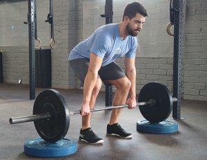 deadlift back pain from blocks