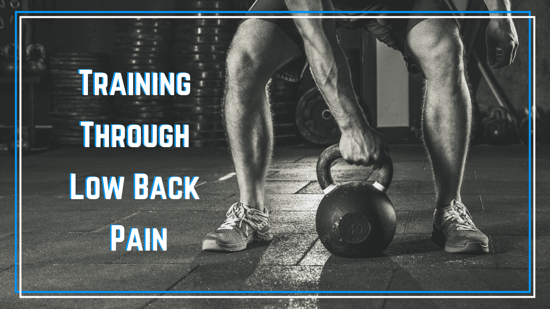 strength training with lower back pain